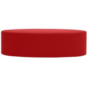 Softline Hocker Bon-Bon rot, Designer Busk & Hertzog, 33x120x50 cm