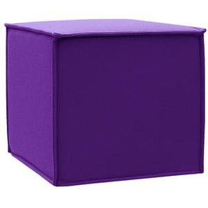 Softline Hocker Space lila, 41x45x45 cm