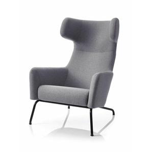 Softline Sessel Havana Grau, Designer Busk & Hertzog, 107x79x96 cm