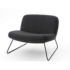 Softline Sessel Java grau, Designer Busk & Hertzog, 67x80x78 cm