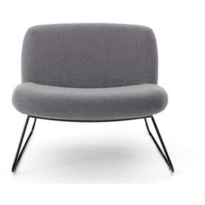 Softline Sessel Java Grau, Designer Busk und Hertzog, 67x80x78 cm