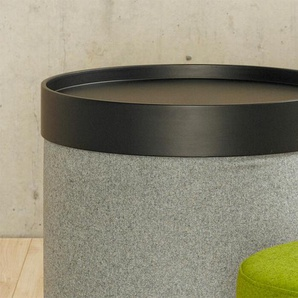 Softline Tablett Drum, schwarz schwarz, 7.4 cm
