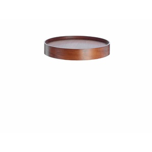Softline Tablett Drum, walnuss braun, Designer Softline Design Team, 7.4 cm
