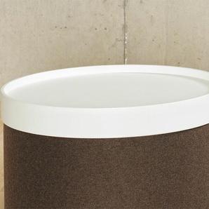 Softline Tablett Drum, weiß weiß, 7.4 cm