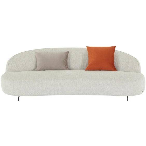 SOHO Sofa, 3-sitzig  Ariane ¦ grau ¦ Maße (cm): B: 224 H: 80 T: 106