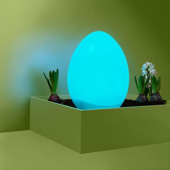 Solar-Ei mit Farbwechsel  - braun -
