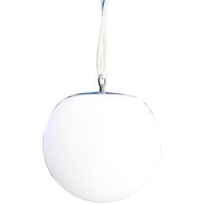 Solar-Hängeleuchte Ø 20 cm weiß