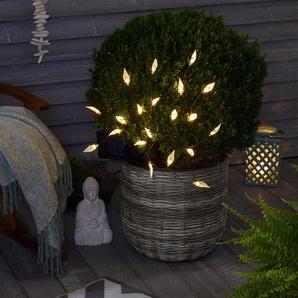 Solar-Strauch mit LED-Blättern