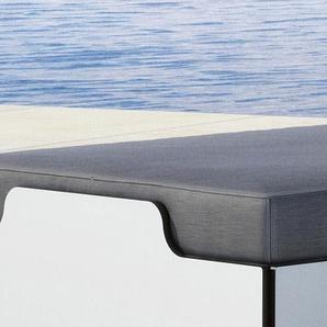 Solara Polsterauflage Müller Möbelwerkstätten grau, 8x65 cm