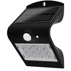 Solarbetriebene LED-Außenbeleuchtung Ilyes mit Bewegungsmelder