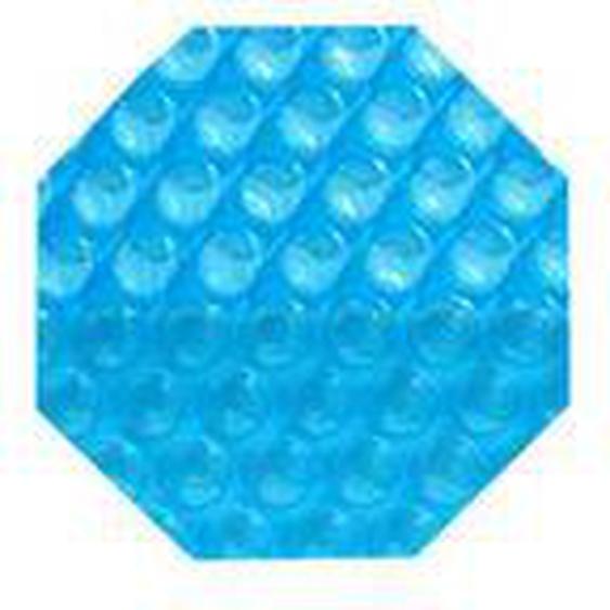Solarplane Achteck für Holzpools 300 µm light-blue 530 cm (Fertigungsmaß: 434 cm)
