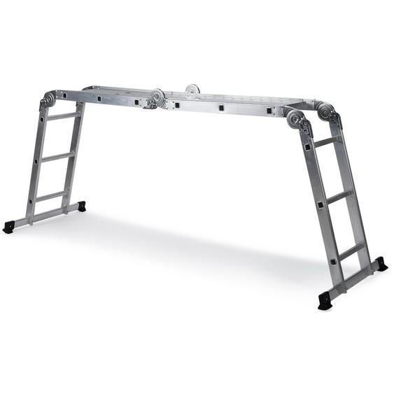 SOLID W3 | 12 Stufen - Klappleiter Aluminium