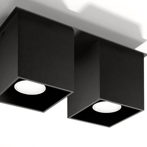 SOLLUX lighting Deckenleuchte »QUAD«, Deckenlampe