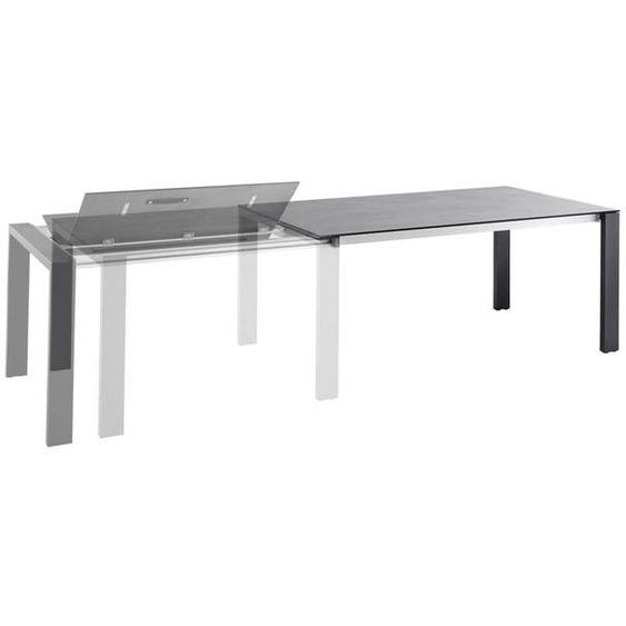 Solpuri Fly Ausziehtisch Aluminium HPL-3D Volcano Grey