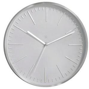 Sompex Quarzwanduhr, Weiß, Kunststoff