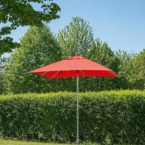 Sonnenschirm Milano rot, 268x200x200 cm