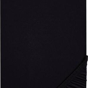 Spannbettlaken »Jette«, Biberna, hochwertiges Jersey-Elasthan geeignet für Wasser- und Boxspringbetten