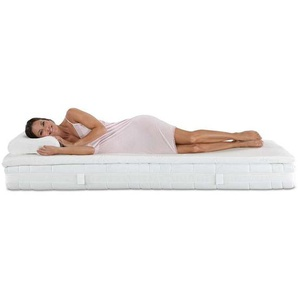 Sparset: Best-Schlaf® Visko-Mineralschaum Matratzenauflage, 4 cm dick & Nackenstützkissen »Premium« mit Gratis-3D-Bezug - 80 x 200 cm