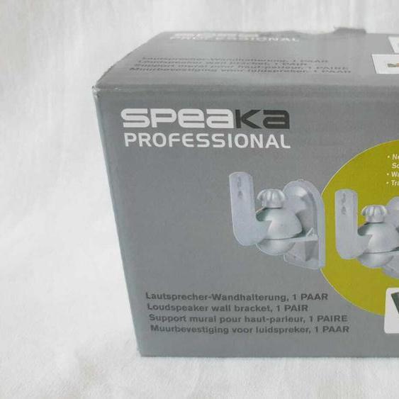 Speaka Professional Lautsprecher-wandhalterung Neigbar+schwenkbar