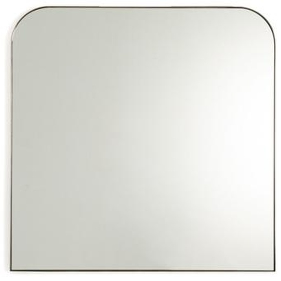 Spiegel Caligone, Altmessingfarbenes Metall, H. 70 Cm