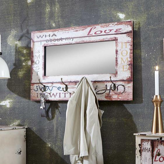 Spiegel Garderobe mit Haken modern