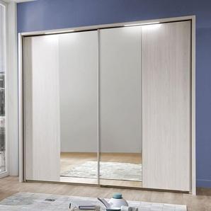 Spiegel-Kleiderschrank Apolda, Lärche hell, 2-türig - Breite 150  cm