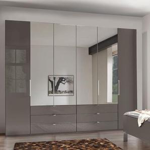 Spiegel-Kleiderschrank mit Glasfront und Schubladen - Harrow