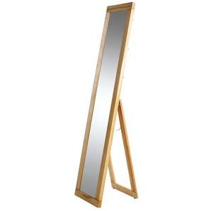 Spiegel mit Holzrahmen Kernbuche massiv stehend groß