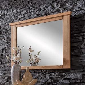 Spiegel mit Rahmen Eiche massiv
