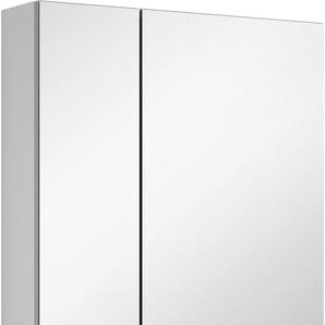 Spiegelschrank mit doppelseitig verspiegelten Türen »3980«, weiß, Türanschlag rechts, MARLIN