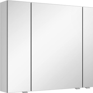 Spiegelschrank mit doppelseitig verspiegelten Türen »3980«, weiß, MARLIN