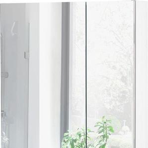 Schildmeyer Spiegelschrank Breite 60 cm »Basic«, weiß, FSC®-zertifiziert