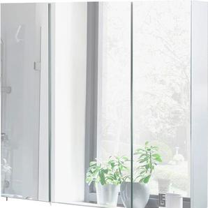 Schildmeyer Spiegelschrank Breite 70 cm »Basic«, weiß, FSC®-zertifiziert