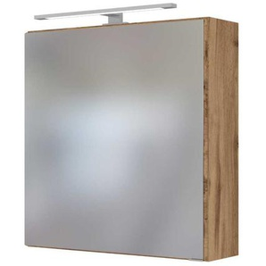Spiegelschrank f�r Badezimmer Wildeichefarben