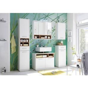 spiegelschrank mit beleuchtung holz, spiegelschränke aus holz - preise & qualität vergleichen | möbel 24, Innenarchitektur