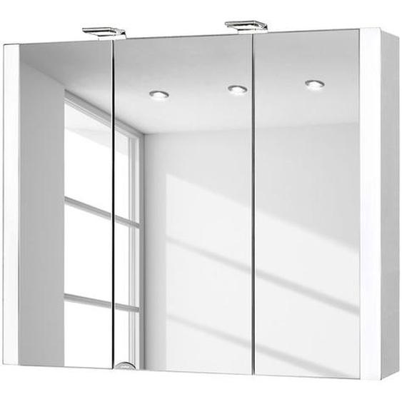 Spiegelschrank Jarvis (mit Beleuchtung)