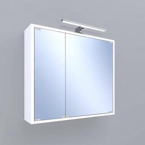 Spiegelschrank Riva LED 2-türig