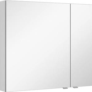 Spiegelschrank mit doppelseitig verspiegelten Türen, weiß, »3980«, MARLIN