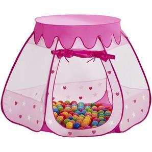 Spielzelt  Prinzessinnen Palast ¦ rosa/pink ¦ Polyester ¦ Maße (cm): H: 90 Ø: [100.0] Baby  Spielen  Spielzelte » Höffner