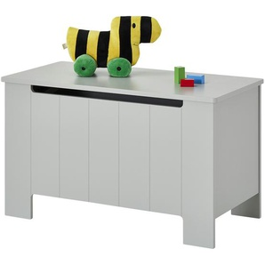 Spielzeug-Truhe  Smilla ¦ grau ¦ MDF ¦ Maße (cm): B: 92,5 H: 53,8 T: 45 Aufbewahrung  Truhen & Kisten » Höffner