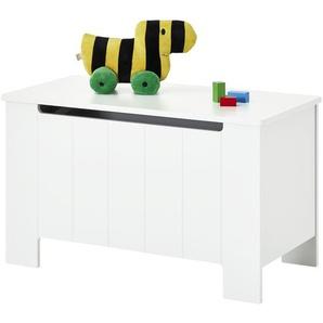 Spielzeug-Truhe - weiß - MDF - 92,5 cm - 53,8 cm - 45 cm | Möbel Kraft