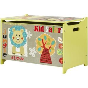 Spielzeugtruhe  Safari ¦ mehrfarbig ¦ Maße (cm): B: 60 H: 37 T: 37 Aufbewahrung  Truhen & Kisten - Höffner