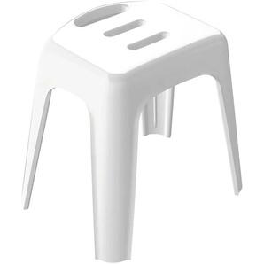 spirella Badhocker B/H/T: 36,5 cm x 47 28,5 weiß Bänke Sofort lieferbar Badezimmer SOFORT LIEFERBARE Möbel