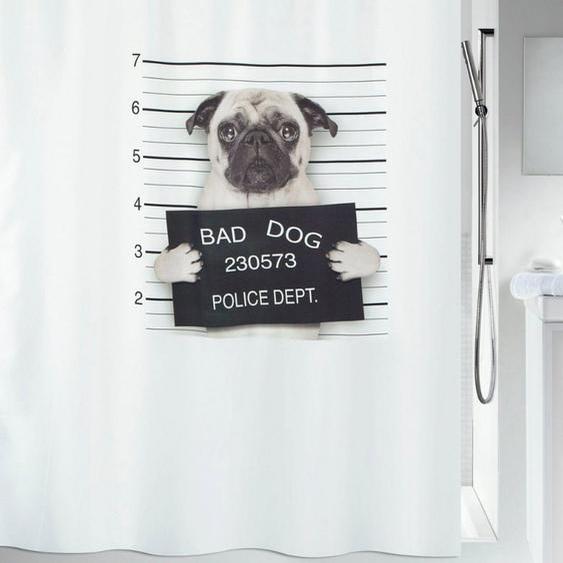 spirella Duschvorhang »BAD DOG« Breite 180 cm, 180 x 200 cm, wasserabweisend