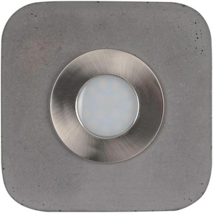 SPOT Light LED Deckenleuchte »COOL«, aus echtem Beton, LED-Module inklusive, Handgemacht, Made in EU