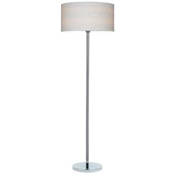 SPOT Light Stehlampe »Leila«, Hochwertiger Lampenschirm aus laminiertem Papier, mit geprägtem Muster, 3D Effekt, passende LM E27 / exklusive, Made in Europe