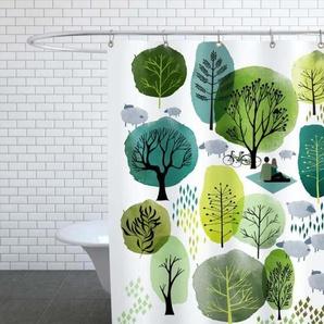 Spring Forest - Duschvorhang