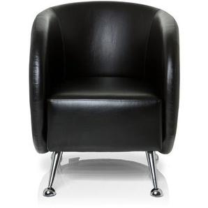 ST. LUCIA   1-Sitzer - Loungesessel Schwarz