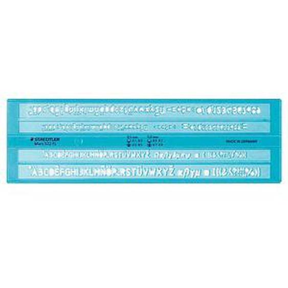 STAEDTLER Schriftschablone Mars® 572 FL  blau