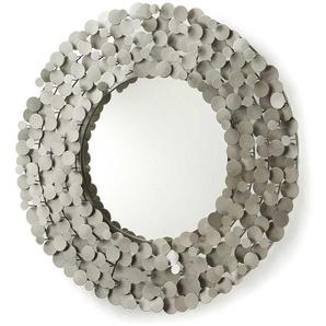 Stahl Spiegel in Filigranem Design 80 cm